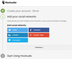 Hootsuite - Connect your social networks